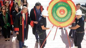 Bodrumda adli yıl açılış töreni yapıldı