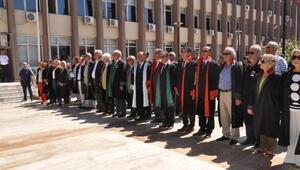Aydındaki adli yıl açılışında hüzünlü tören