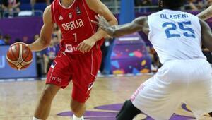 Bogdanovic yıldızlaştı, Sırbistan kazandı