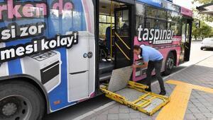 EGO otobüslerinde engeller kalktı
