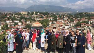 Pursaklarlı kadınlar Safranboluyu gezdi