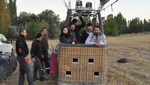 Eskişehirde balon uçuşu