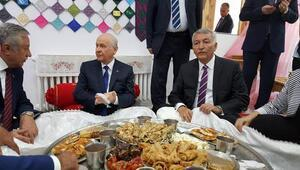 MHP Lideri Devlet Bahçeli Ispartada
