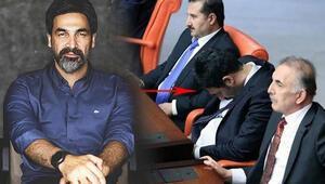 Mecliste uyumak çok çalışmanın işaretidir