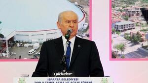 MHP Lideri Devlet Bahçeli Ispartada (2) - yeniden
