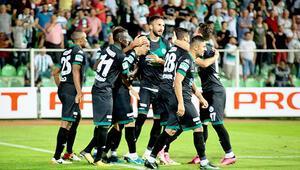 Giresunspor evinde Eskişehirsporu rahat geçti