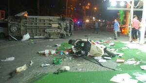 Manavgatta kaza: 6 yaralı