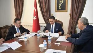 YÖK Başkanı, Vali, Rektör ve Başkan'ın Eymir yürüyüşü