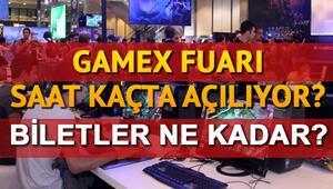 GameX fuarı ne zaman saat kaçta açılıyor GameX biletleri ne kadar