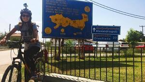 Yunanistan'a bisikletle ziyaret