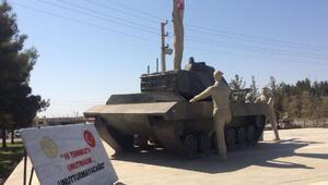 Harranda 15 Temmuz Anıtındaki Erdoğan heykeli kaldırıldı