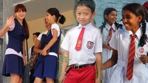 İşte 20 ülkede okul kıyafetleri... Tişört giyen de var, gömlek giyen de