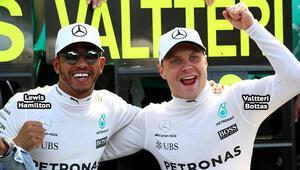 'Bottas'la Hamilton'un kimyaları uydu'