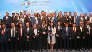 ATSO ödül törenine siyasilerden yoğun ilgi