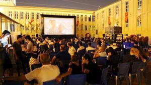 Gaziantepte, açık hava sinema etkinliği
