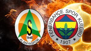Aytemiz Alanyaspor Fenerbahçe maçı ne zaman saat kaçta