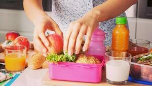 Beslenme çantasında neler olmalı