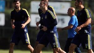 Fenerbahçede Aytemiz Alanyaspor maçının hazırlıkları sürüyor