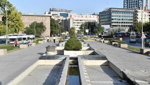 Atatürk Meydanı yenileniyor