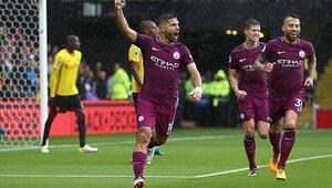 Manchester City gol oldu yağdı