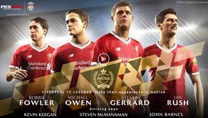 Liverpool efsaneleri PES 2018'e katılıyor