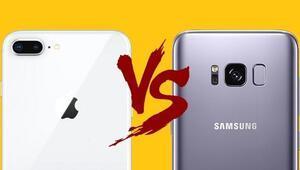 Büyük rekabet: iPhone X mi yoksa Galaxy S8 mi
