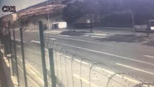 Tuzlada 1 kişinin öldüğü feci kaza güvenlik kamerasında