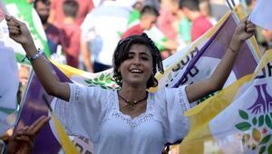 HDPden Diyarbakırda Adalet, Vicdan ve Demokrasi mitingi - Ek fotoğraflar