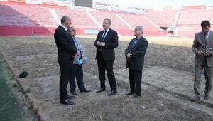 Trabzonspor'un eski stadı Avni Aker yıkılıyor