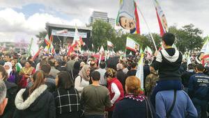Almanya'da 'beyaz zeminli' Öcalan posterine izin