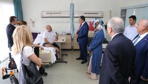MHP, AKP VE CHPli Belediye Meclis üyelerinden gazilere ziyaret