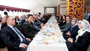Amasya Protokolü ve Gaziler kahvaltıda bir araya geldi