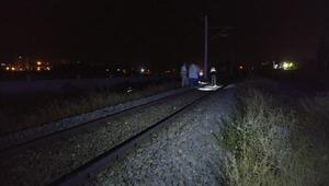 Niğdede yük treninin çarptığı genç öldü