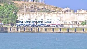 Kefken açıklarında kaçak göçmen teknesi battı