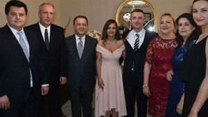 CHP'li İnce'nin oğlunun düğününe ünlü isimler davet edildi