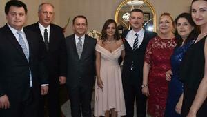 CHPli İncenin oğlunun düğününe ünlü isimler davet edildi