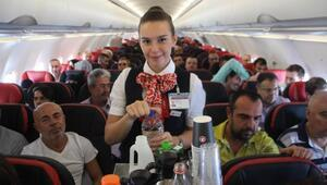 Uçakta staj dönemi