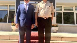 AK Partili Tinden jandarmaya ziyaret
