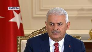 Başbakan Yıldırımdan ortak TV yayınında önemli açıklamalar