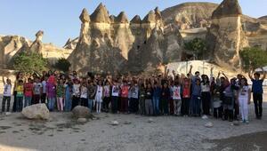 Gençlerden Kapadokya çıkarması
