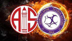 Antalyaspor - Osmanlıspor / CANLI ANLATIM