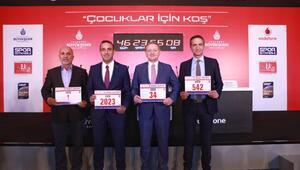 On binler İstanbul Maratonu'nda çocuklar için koşacak