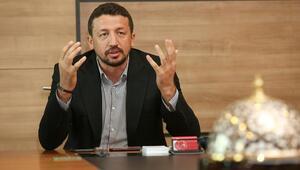 TBF Başkanı Hidayet Türkoğlu Basketbol Gençler Ligini tanıttı