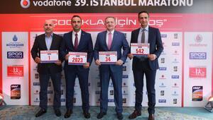 Vodafone 39uncu İstanbul Maratonunda çocuklar için koşulacak