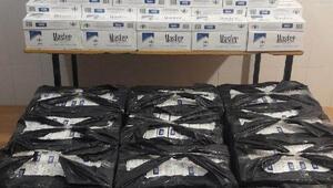 Yayladağında 9 bin 300 paket gümrük kaçağı sigara ele geçti