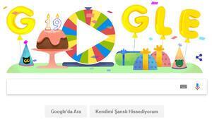 Googleın doğum günü çarkıfeleği nasıl oynanıyor 19. yaş gününü doodle ile kutladı