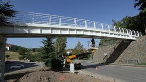 Yayalar için iki yeni köprü