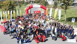 Geleceğin mühendislerinin tasarladığı enerji tasarruflu otomobiller İstanbul'da yarıştı