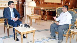 IKBY Başbakanı Barzani, DHAya konuştu: Kesinlikle sınırları değiştirmeyeceğiz