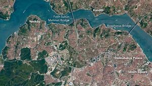 İşte NASAnın gözünden İstanbulun inanılmaz değişimi